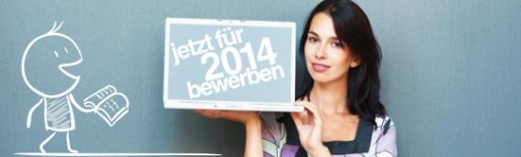 11.03.2014 – Jetzt bewerben für Wintersemester 2014